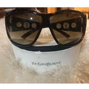 Yves Saint Laurent sunglasses and Case